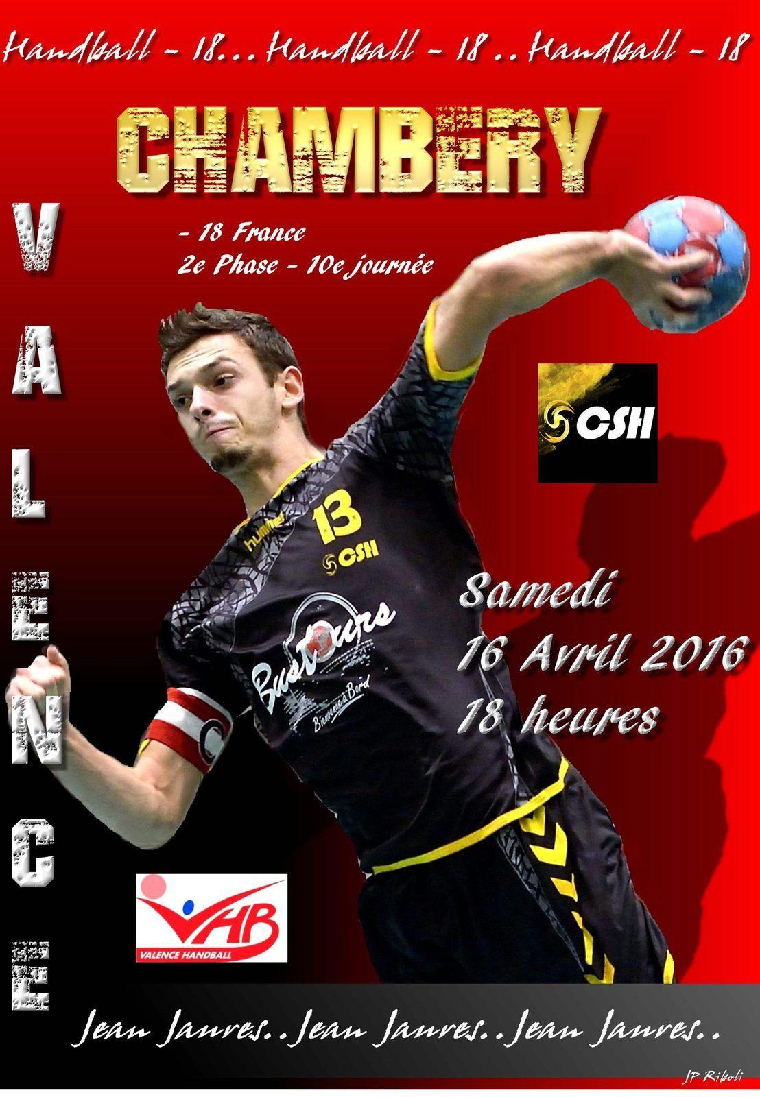 CSH les - 18 France recoivent Valence ce samedi 16