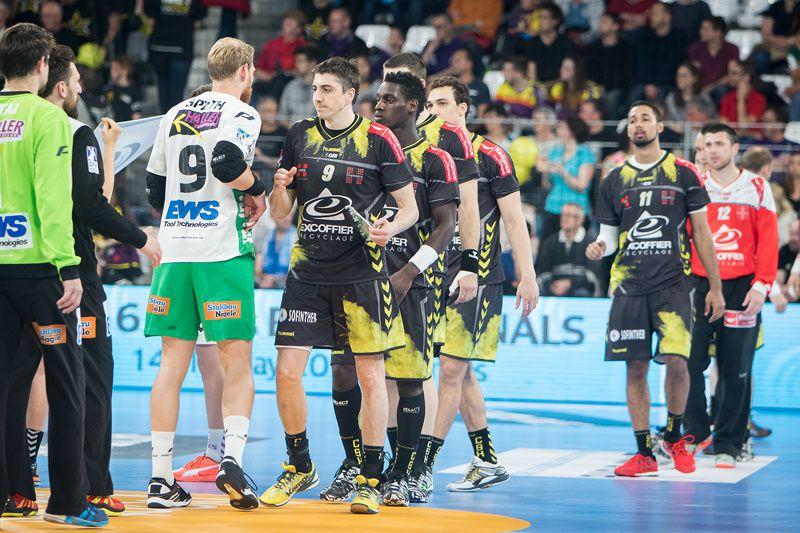 EHF  CHAMBERY - GÖPPINGEN sur des images de Laurent Théophile