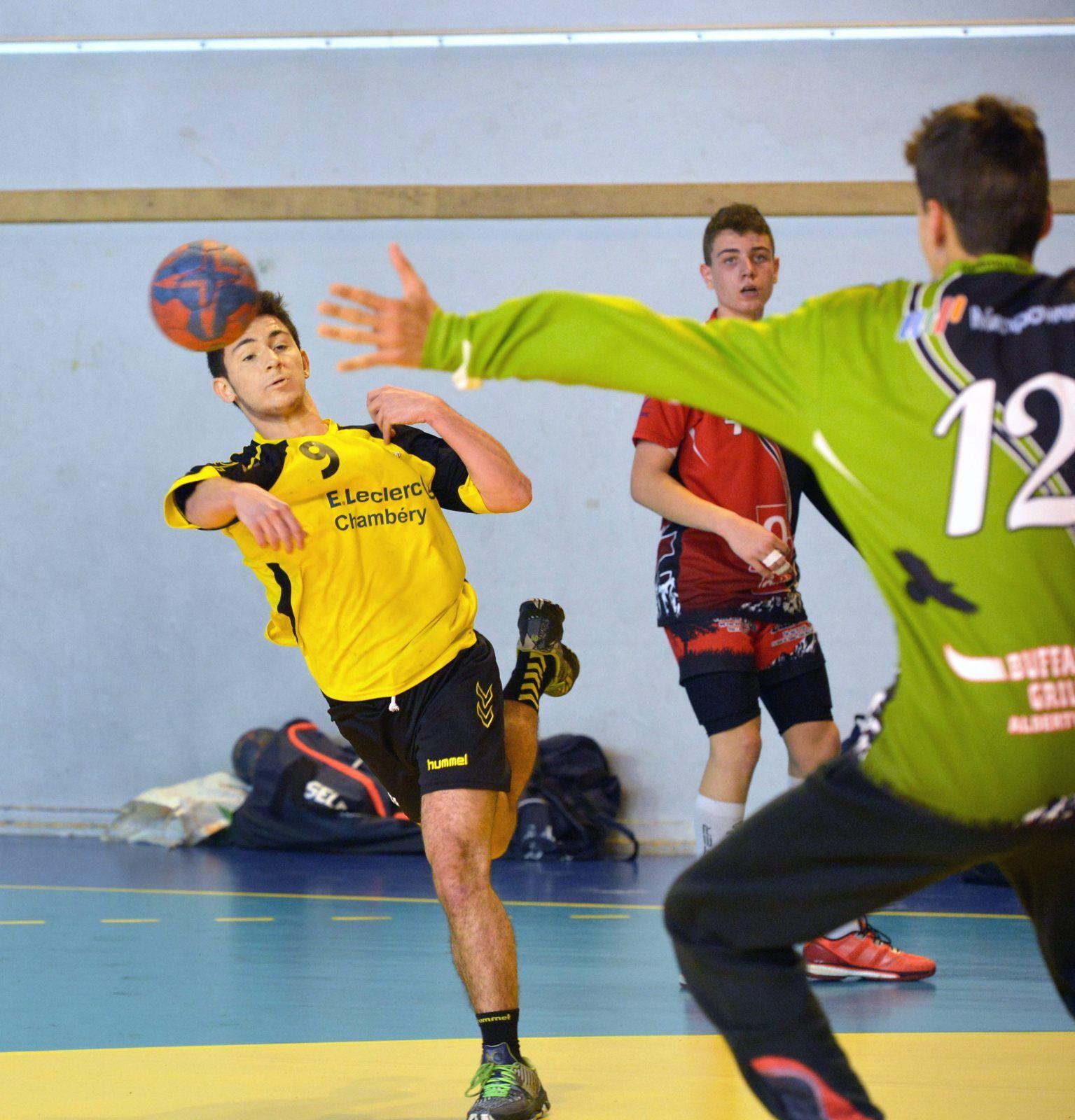 - 17 ligue pour Chambéry l'ASSAU était trop fort, dimanche 16 octobre 2016