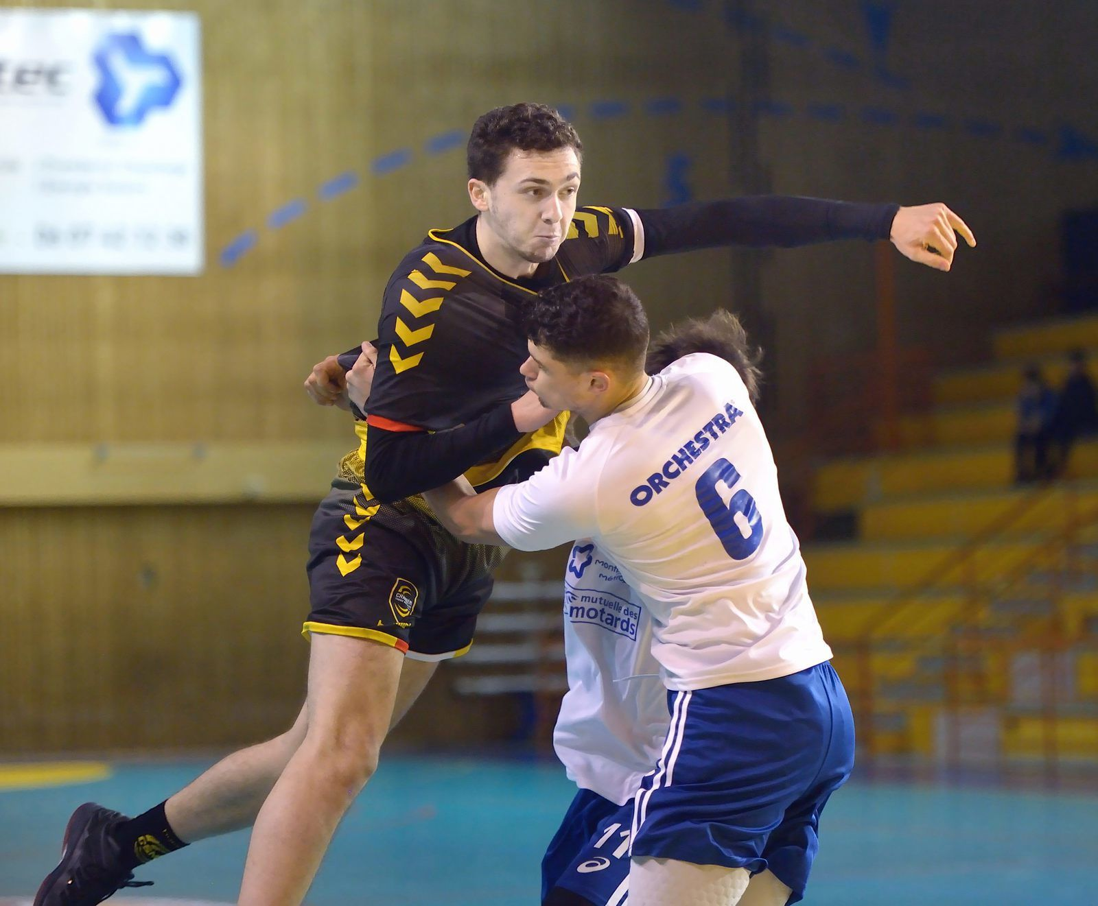 N1 MONTPELLIER2 plus fort que CHAMBERY2 samedi 4 mars 2017