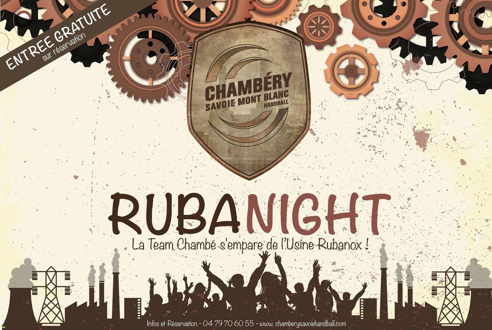 RUBANIGHT LA TEAM CHAMBE S'EMPARE DE L'USINE RUBANOX !
