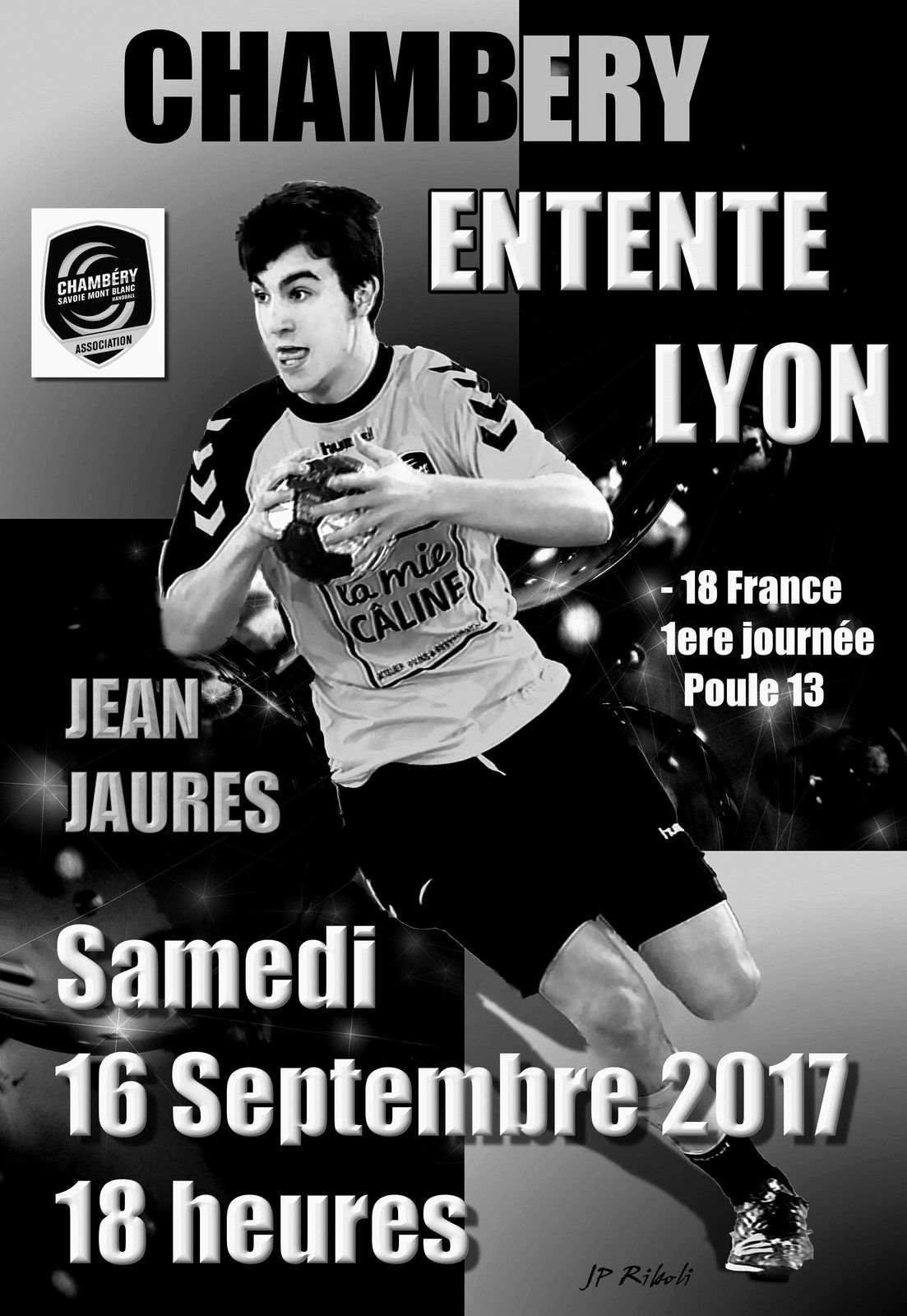Le diaporama des photos noir et blanc - 18 France CHAMBERY - ENTENTE LYON 16092017