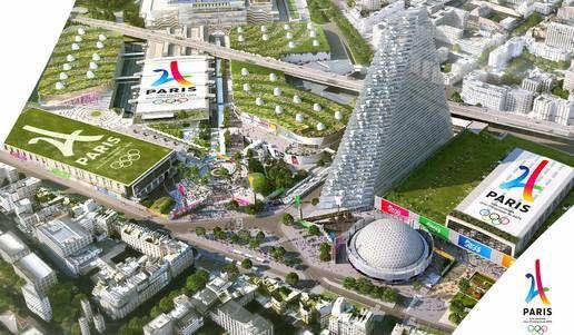 Paris, ville hôte des J.O. 2024