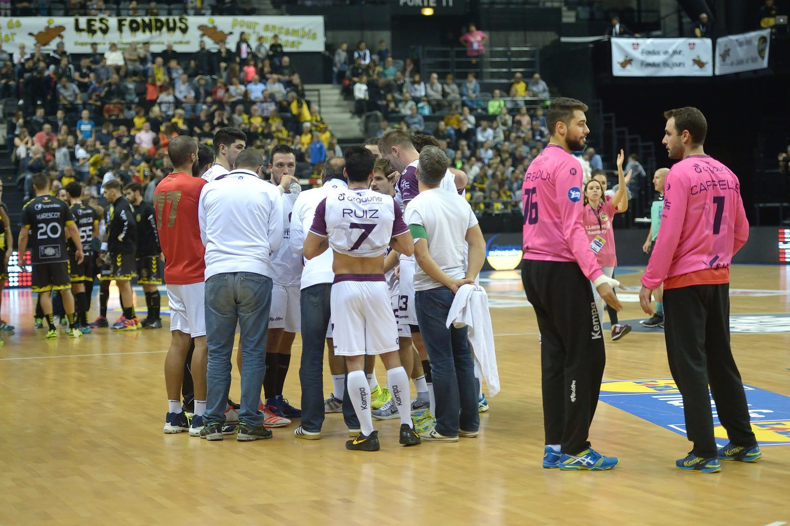 CHAMBERY / ISTRES FIN DE PARCOURS photos du match 22102017