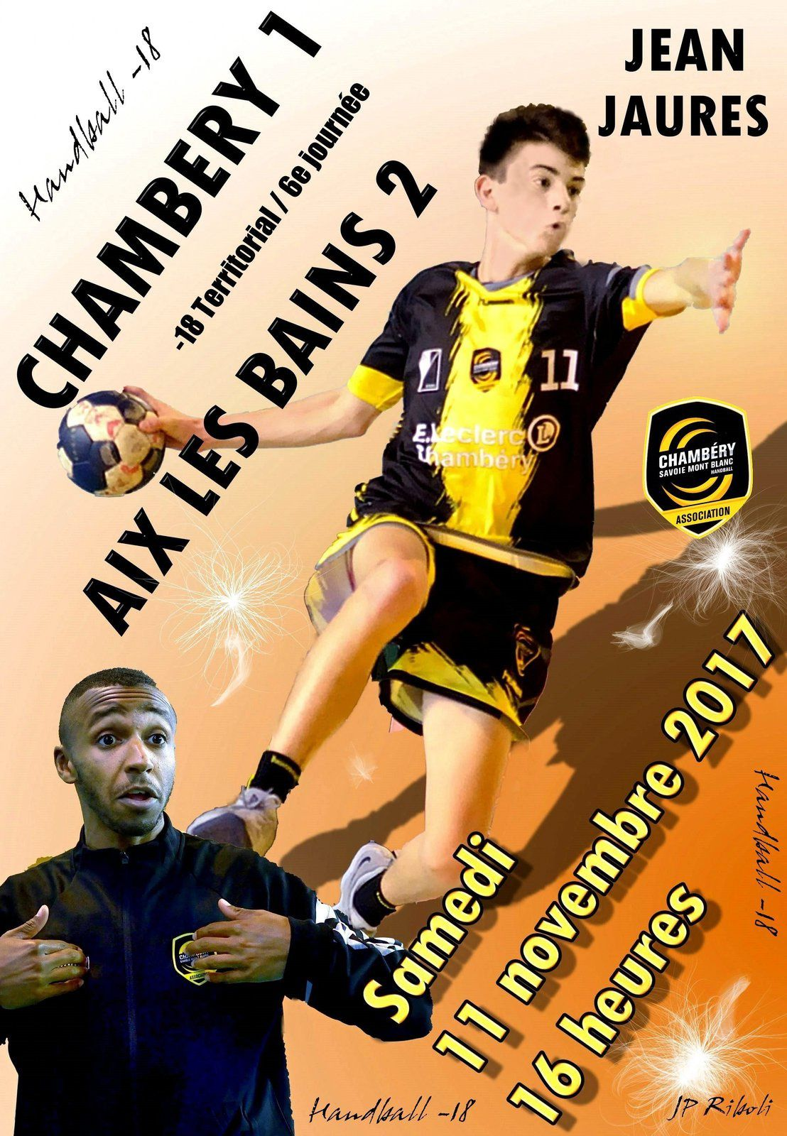 CHAMBERY les matches du week-end 11 et 12 novembre 2017