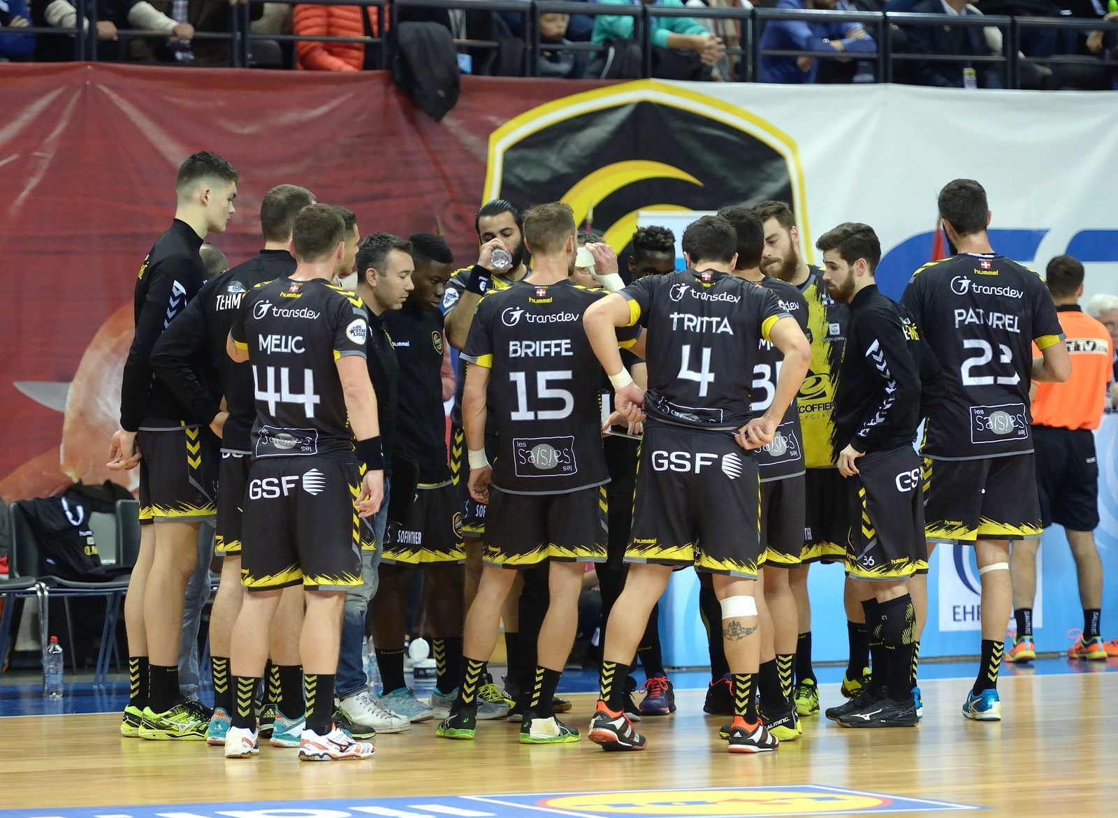 CHAMBERY / TATABANYA QUALIFICATION POUR LA PHASE DE POULE ! 25 novembre 2017 les photos du match