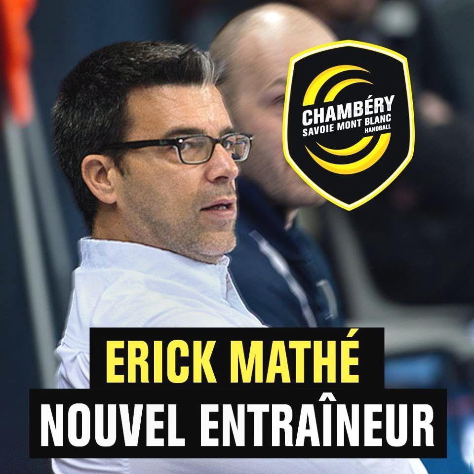 ERICK MATHÉ NOUVEL ENTRAÎNEUR !