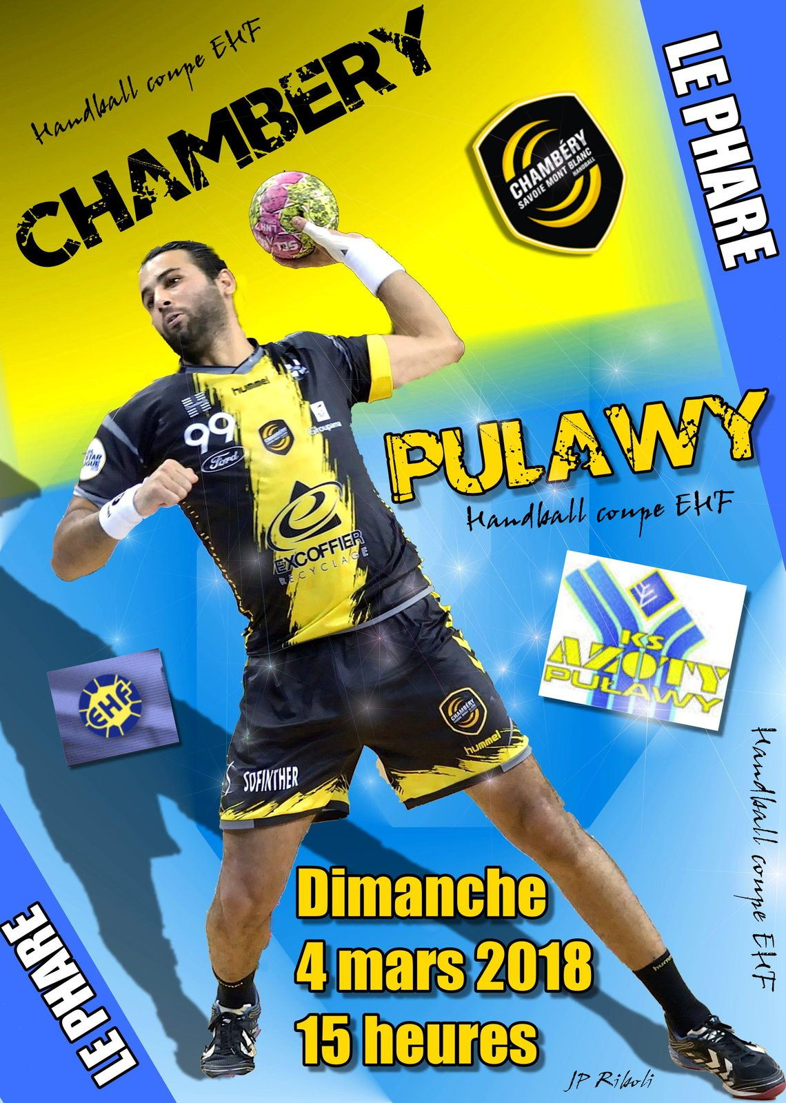 CHAMBÉRY / PULAWY DIMANCHE 04 MARS - 15 Heures