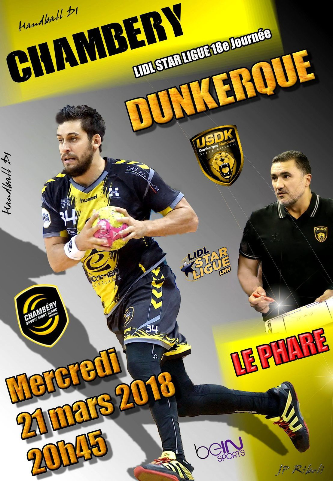 CHAMBERY / DUNKERQUE LUTTONS CONTRE LE FROID VENU DU NORD
