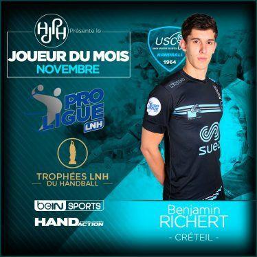 L'ESPOIR BENJAMIN RICHERT, NOUVEAU CHAMBÉRIEN