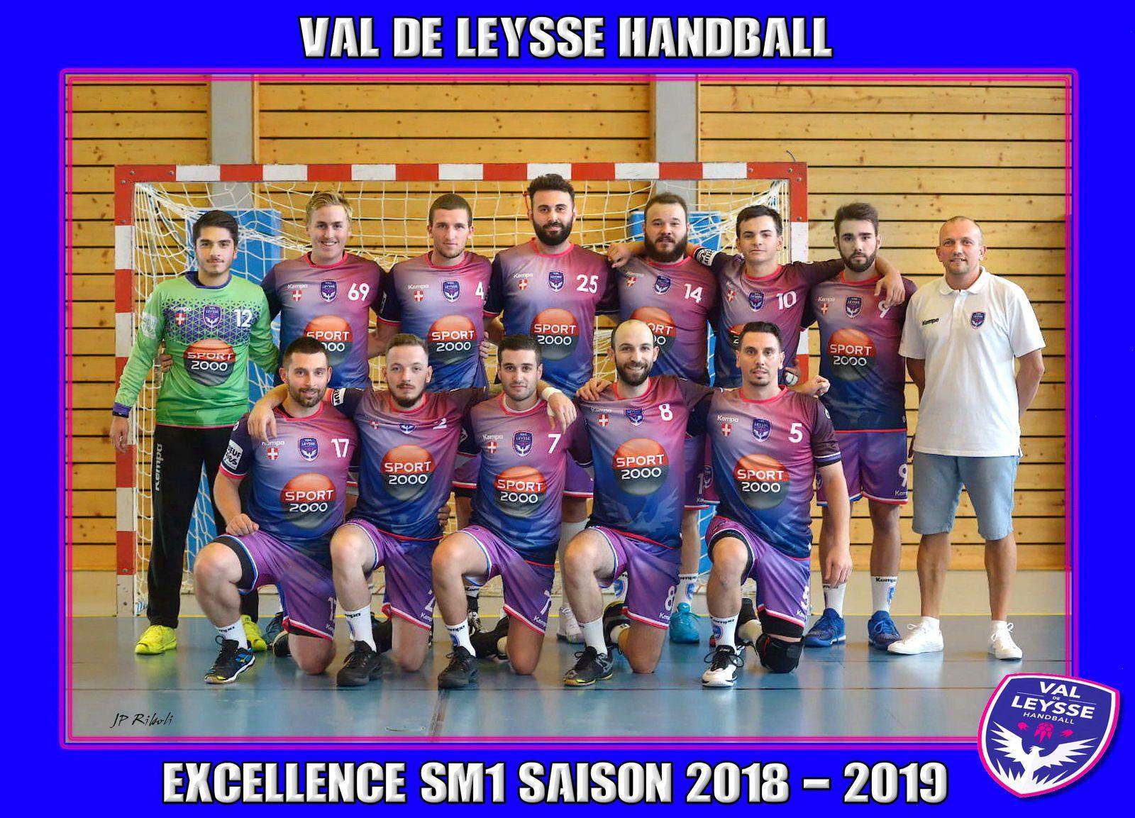 Excellence SM1 VAL de LEYSSE reçoit HANDBALL BOURG ce samedi 10 novembre à 21 heures