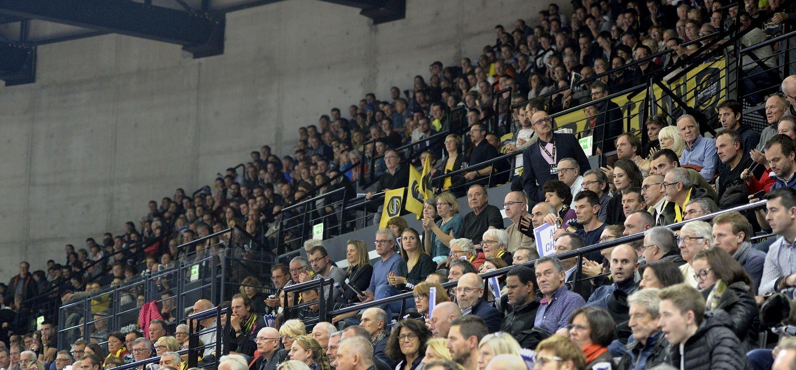 LSL CHAMBERY : 22 - MONTPELLIER : 29 les photos du match 29 novembre 2018