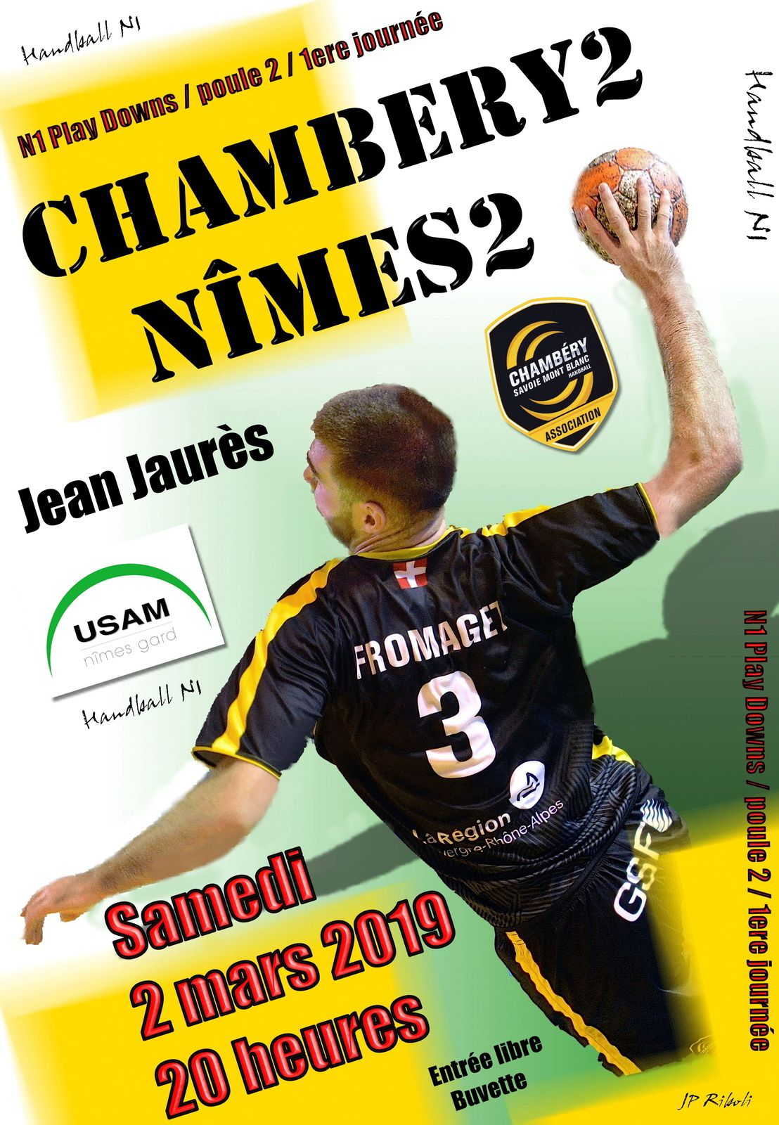 N1 CHAMBERY2 connaît ses adversaires en 2e Phase