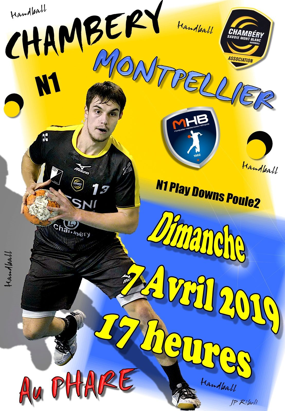 N1 Le derby et les points pour ANNECY-LE-VIEUX samedi 30 mars 2019