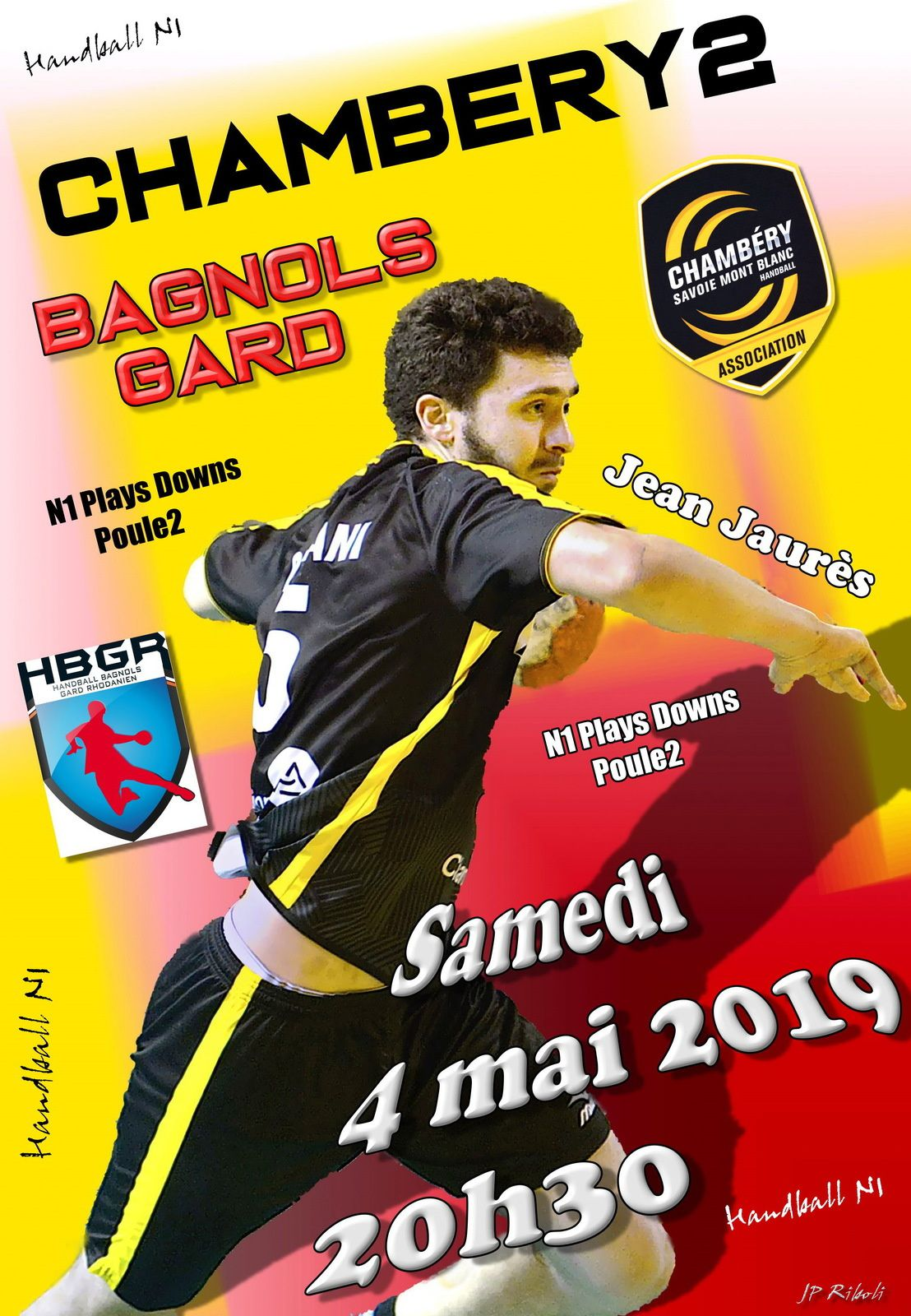 - 18FRANCE un match facile pour CHAMBERY contre l'entente LOIRE samedi 27 avril 2019