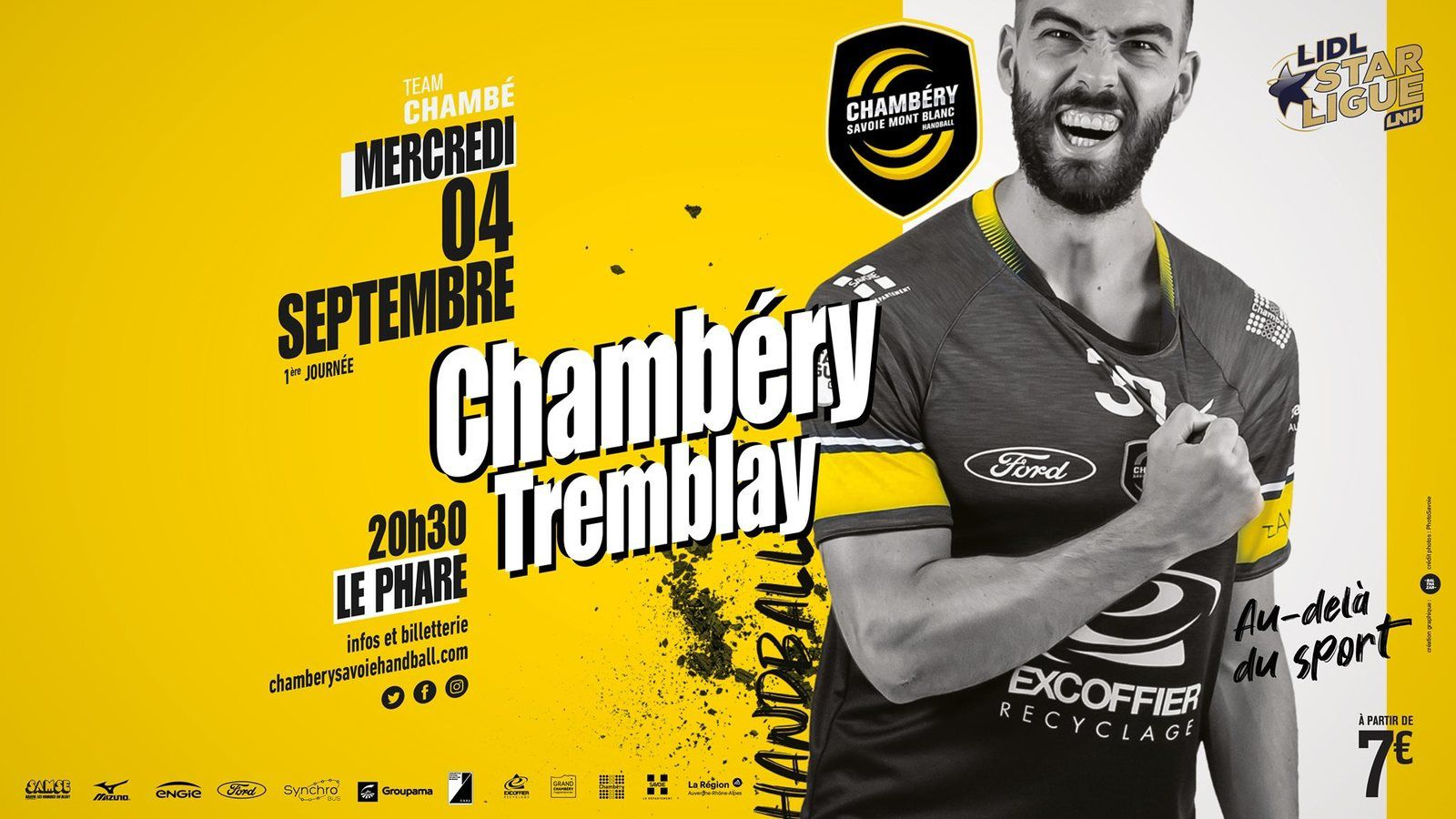 LSL CHAMBERY - TREMBLAY DÉFENDONS NOS COULEURS !