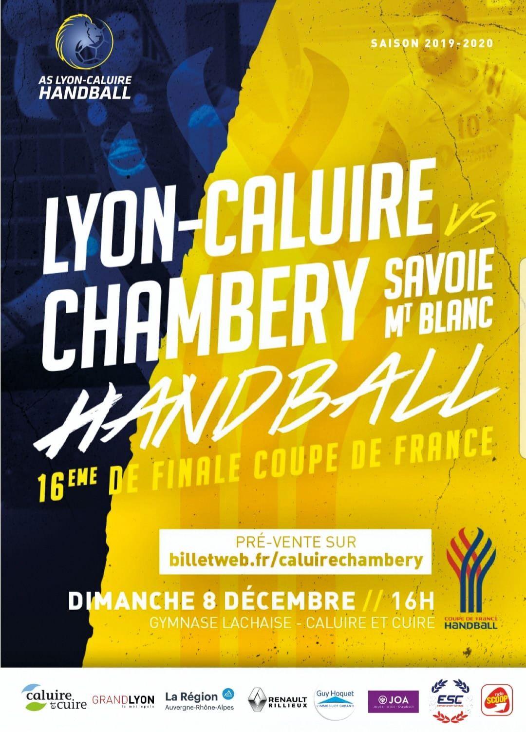 CHAMBERY amateur le WEEK-HAND du 7 et 8 décembre 2019 par Bertrand CLARET