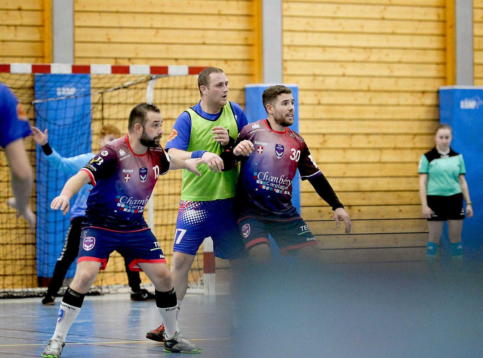 1ere division AURA le derby remporté par le VAL DE LEYSSE sur SAINT-PIERRE CHAMOUX dimanche 19 janvier 2020