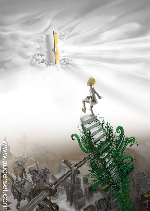 «Avoir la foi, c'est monter la première marche lorsqu'on ne voit pas tout l'escalier. » Martin Luther King jr.