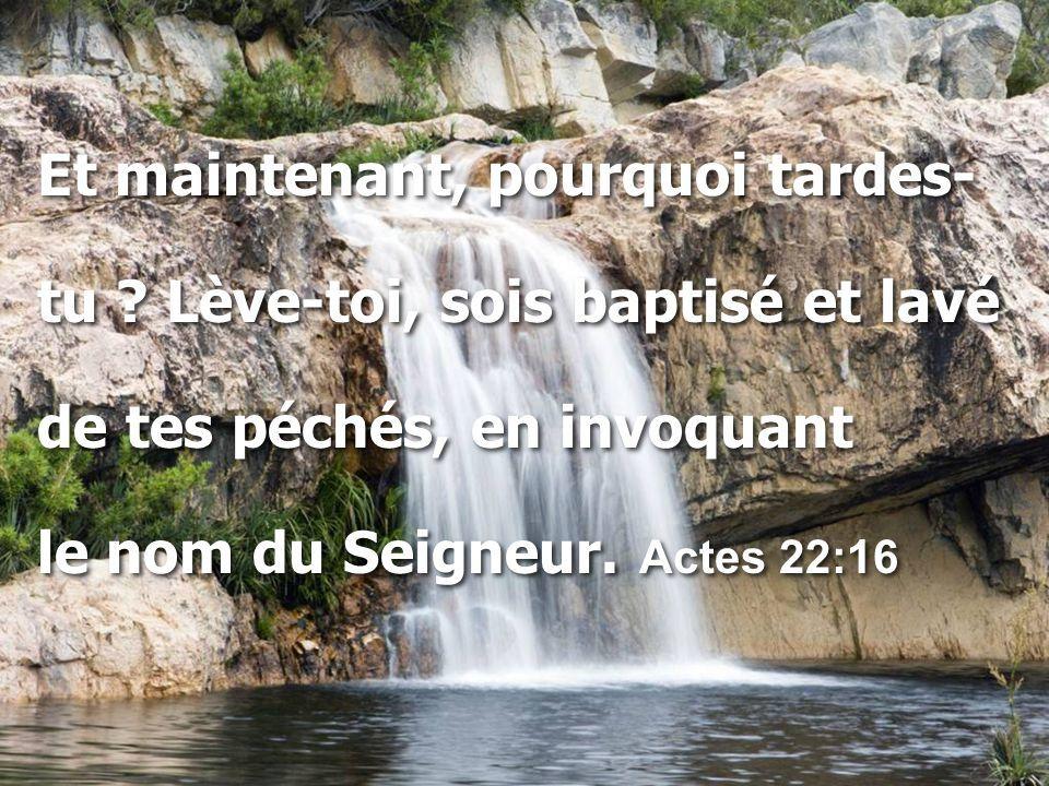 Le baptême nous fait « être en Christ » - Partie 2