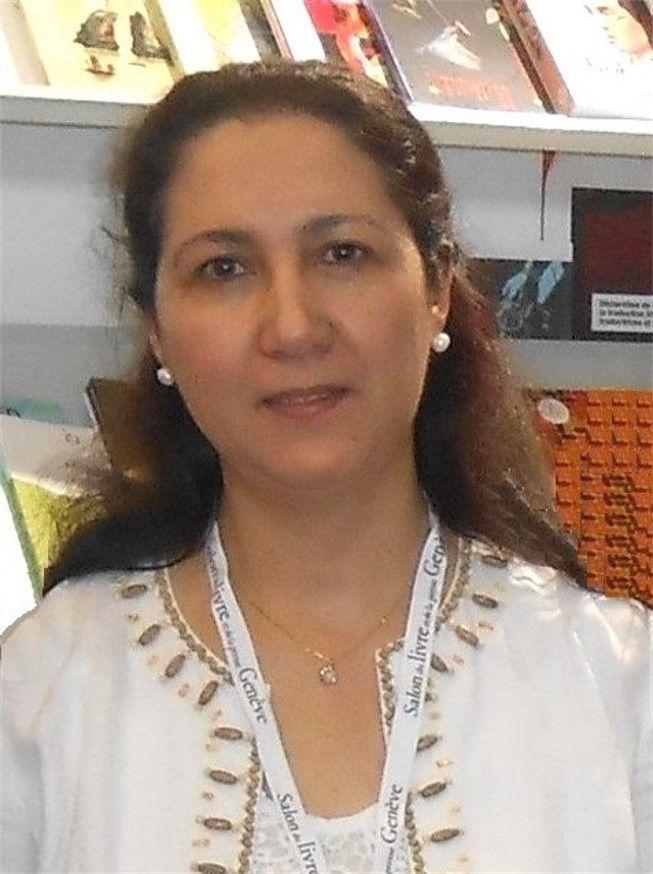 Maria Zaki. Salon du Livre de Genéve, 28 Avril 2017.- DR