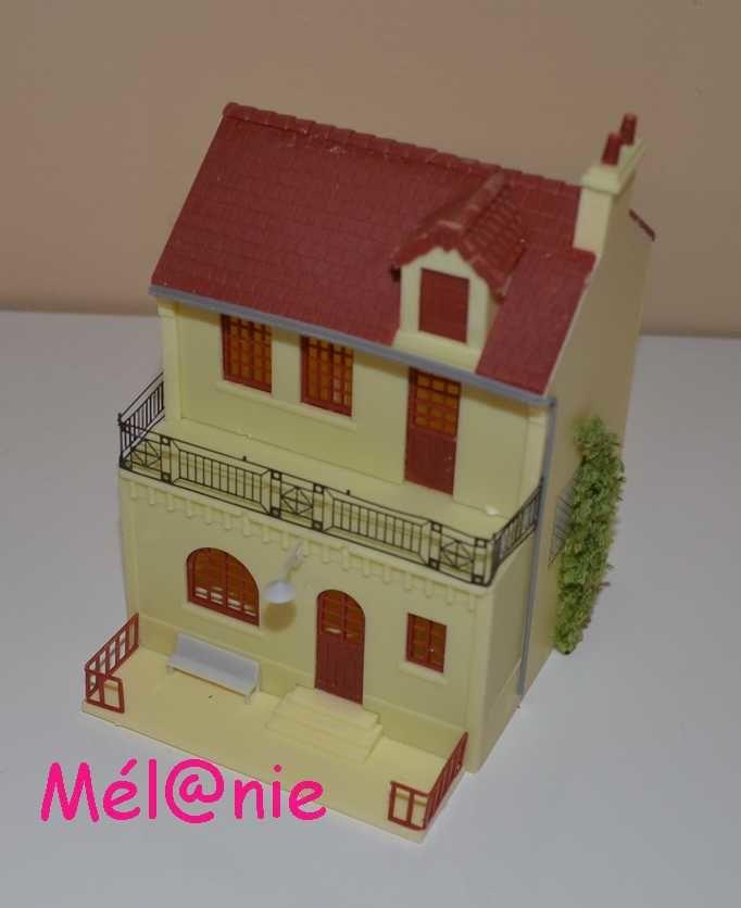 une maquette : la maison du notaire