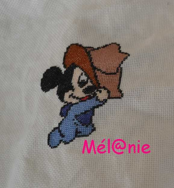 serviette Mickey - 4 -
