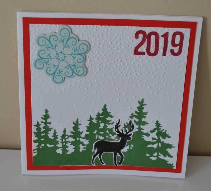 DIY cartes de voeux 2019 #2