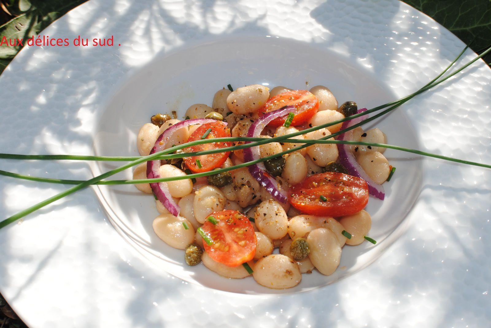 Salade de cocos de Paimpol .