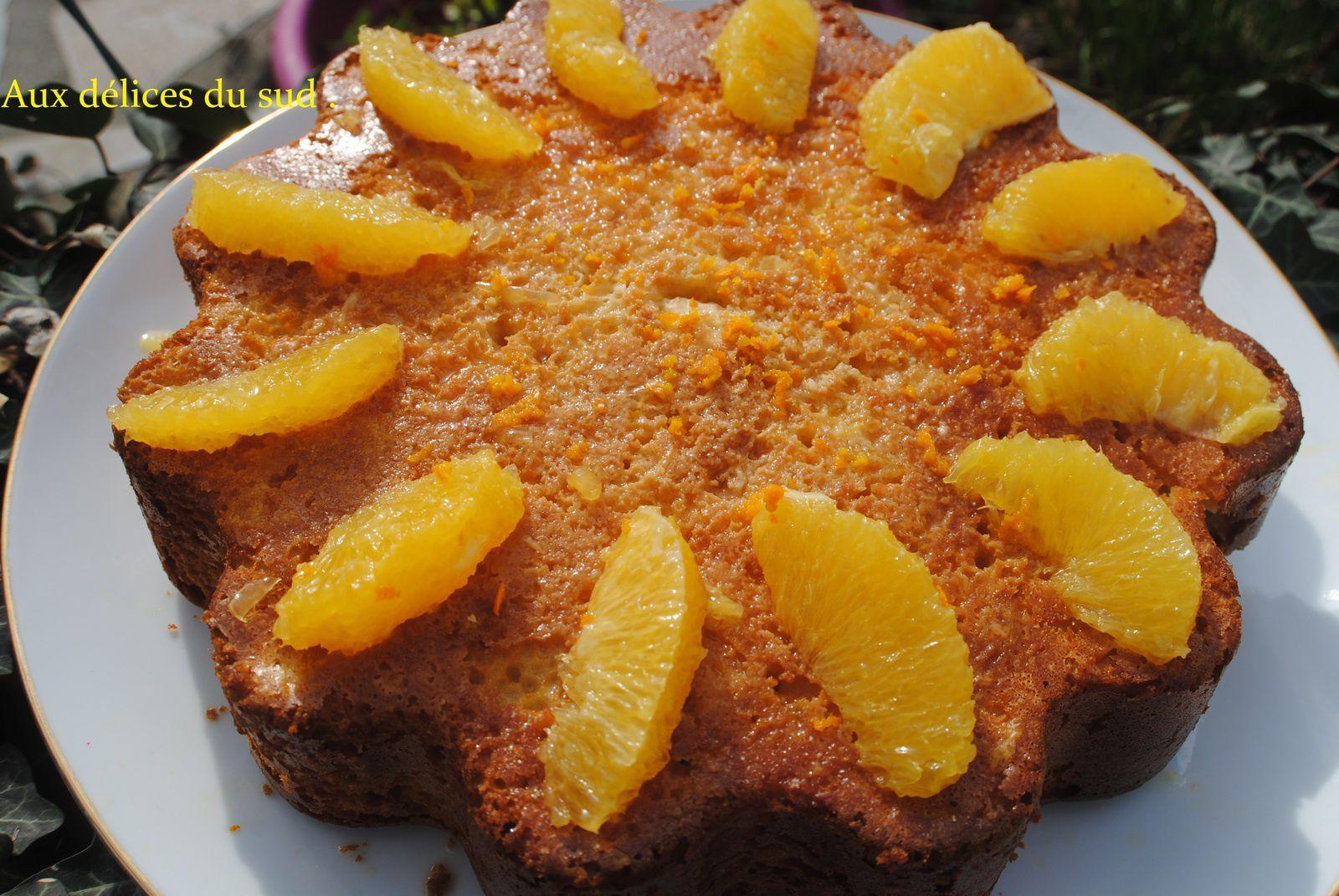 Moelleux à l'orange portugais .
