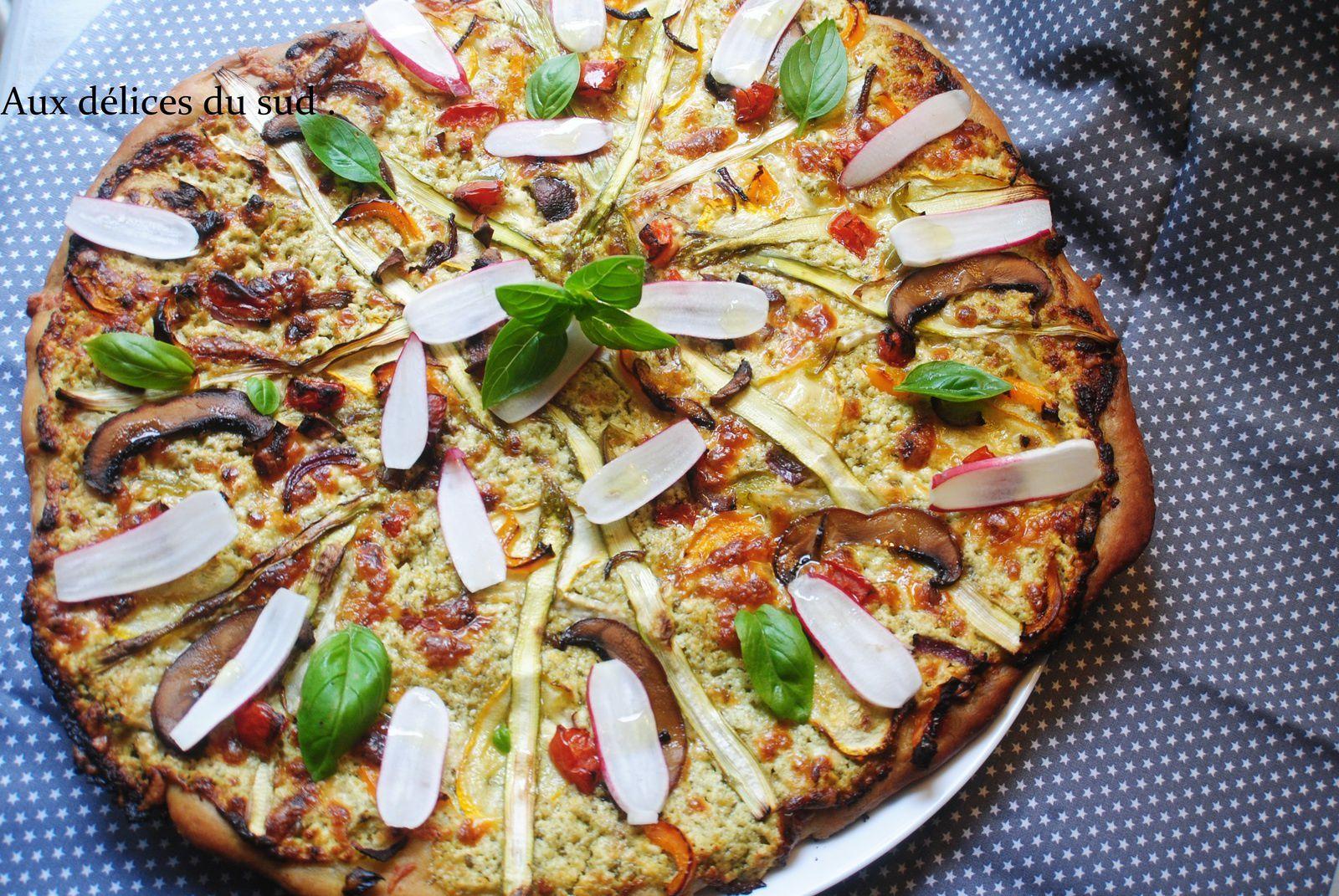 Pizza printanière .