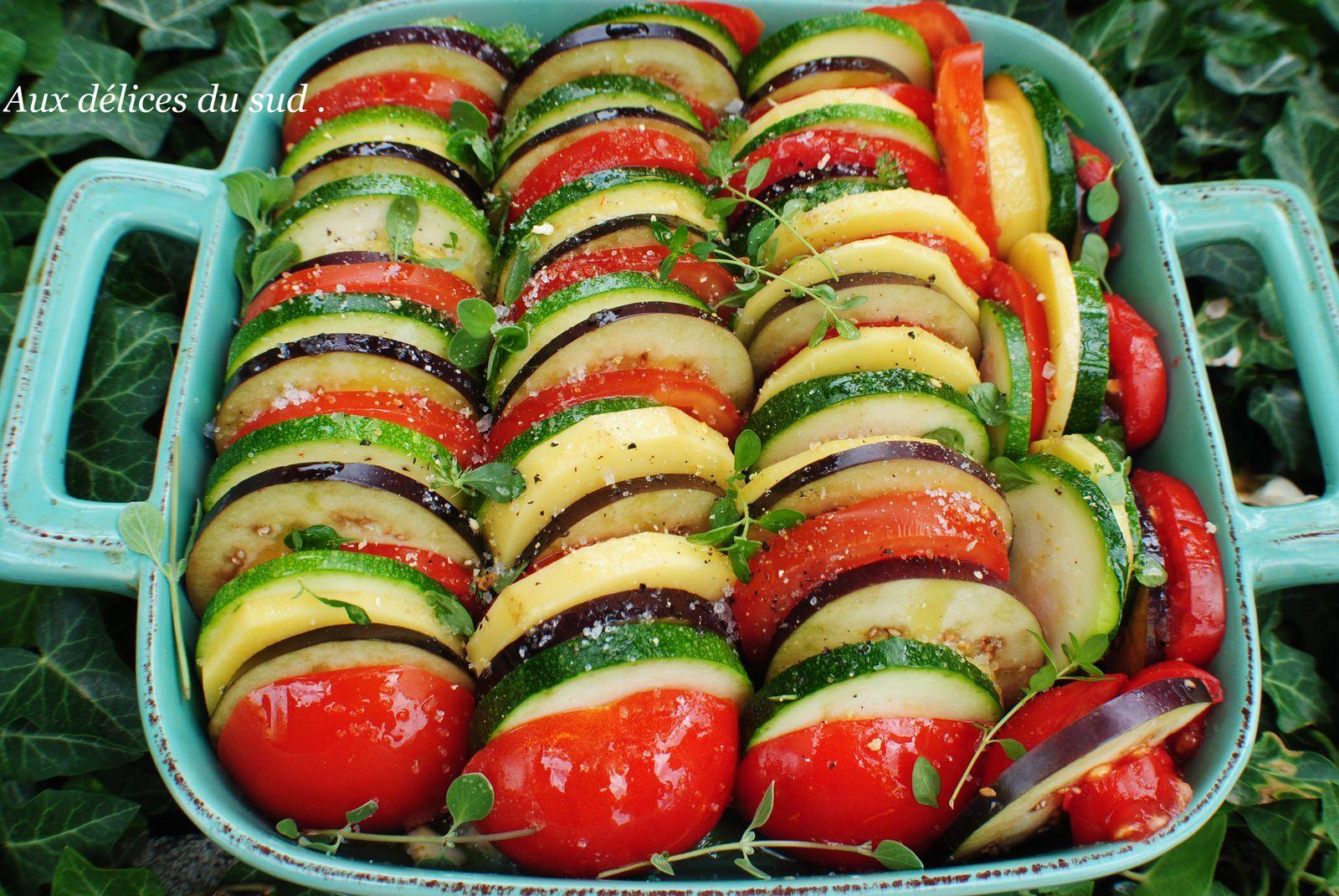 Tian provençal de légumes :