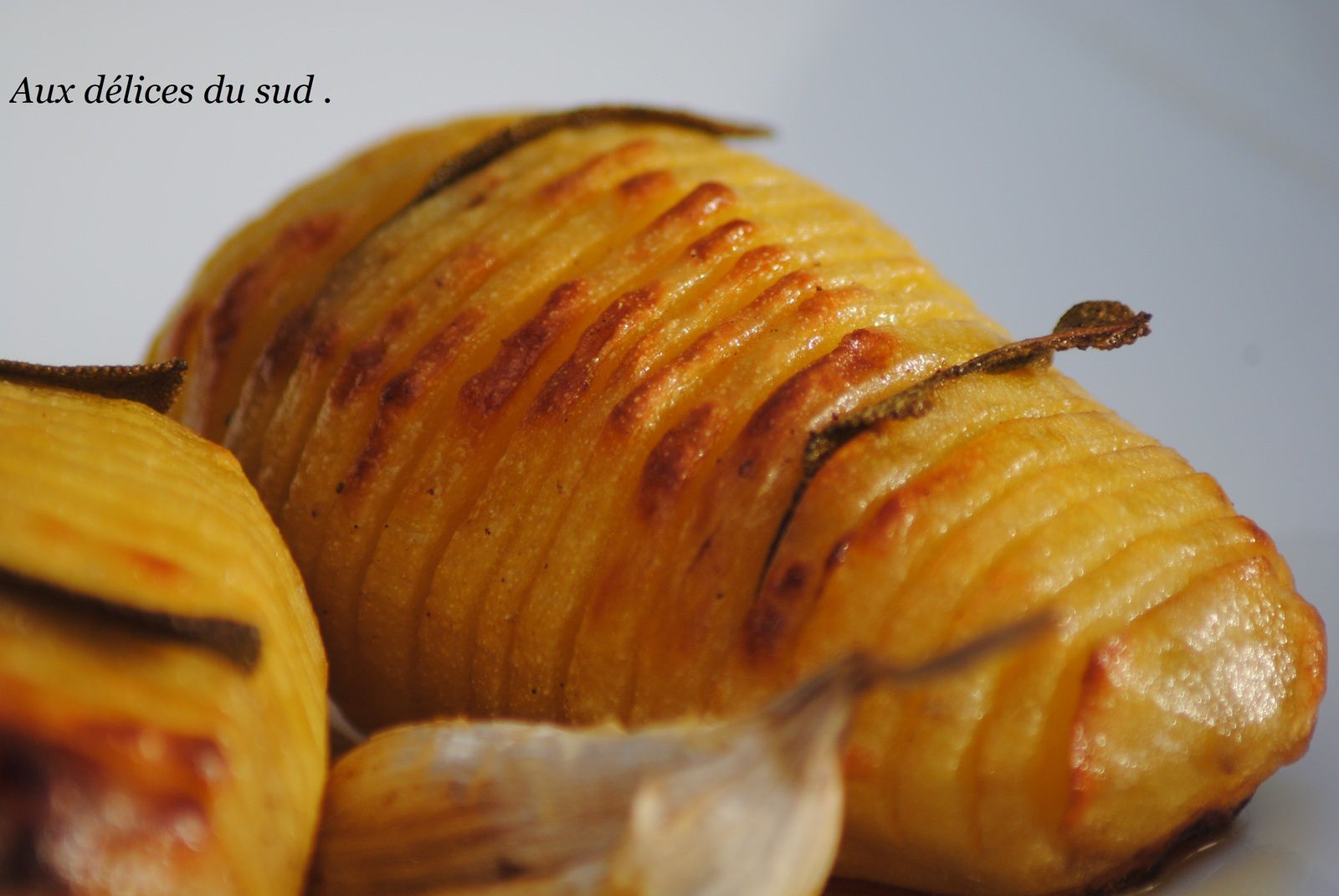 pommes de terre suédoise à la sauge .