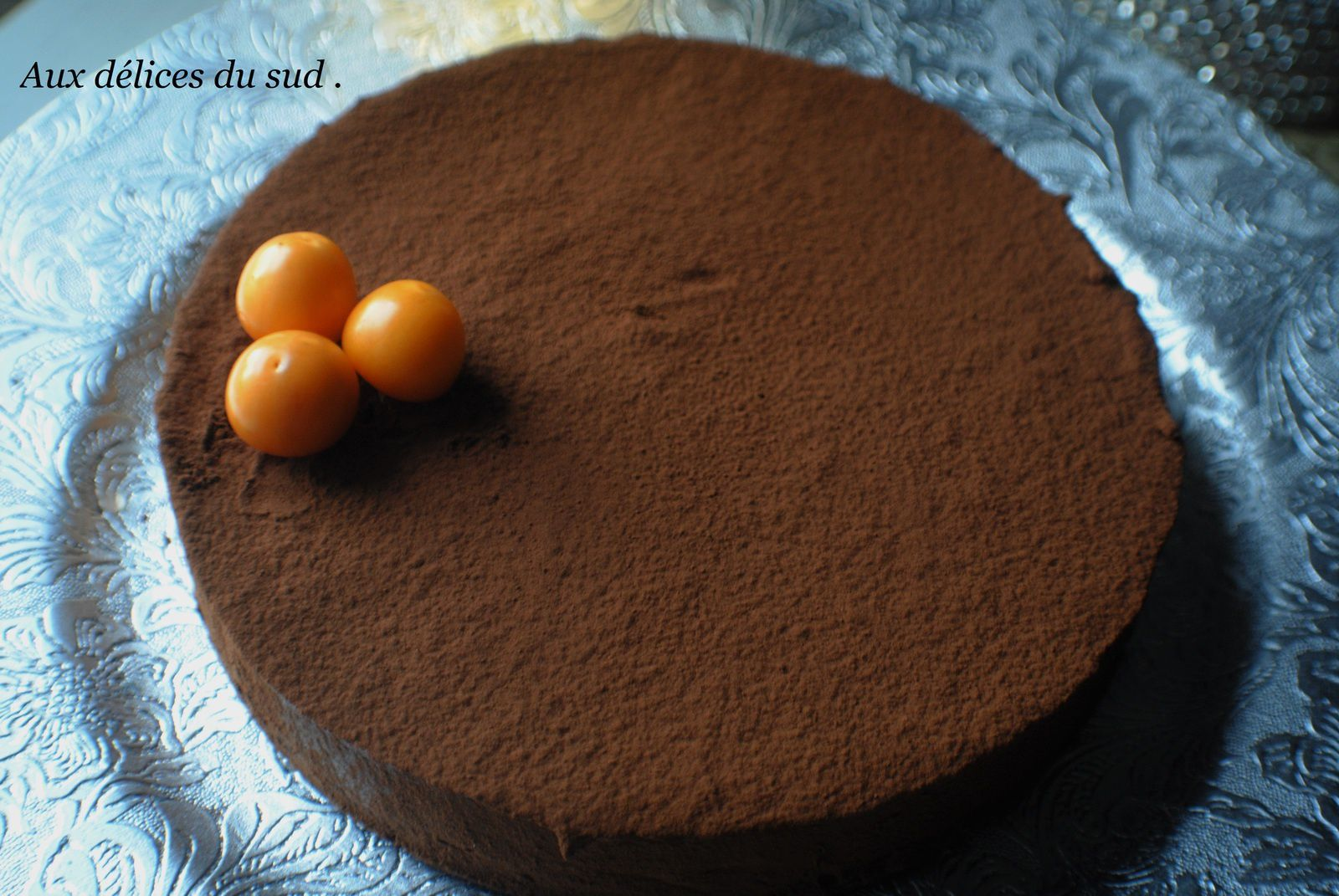 Gâteau au chocolat , passion du chef Heston Blumenthal  .