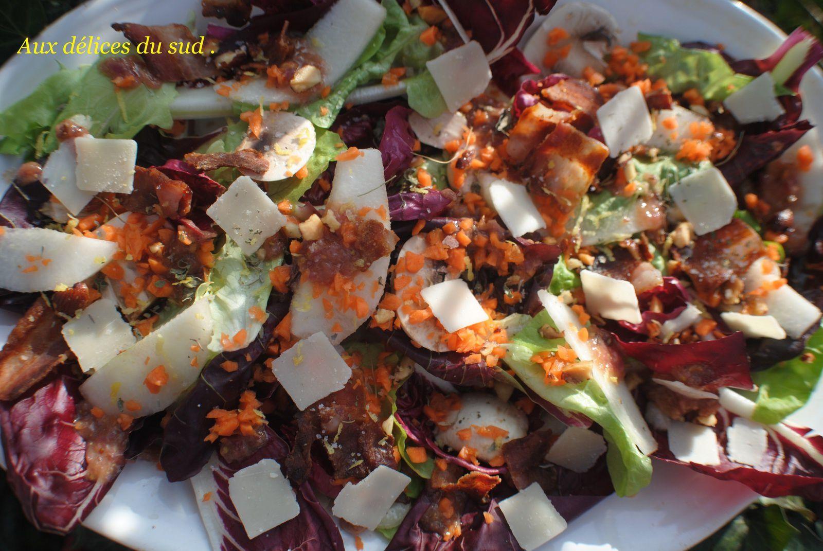 Salade d'hiver .