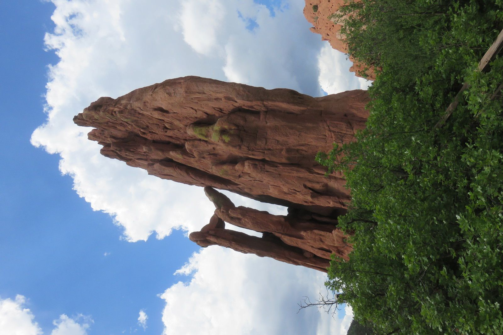 Jour 3 - COLORADO SPRINGS - Pikes Peak et Garden of the Gods