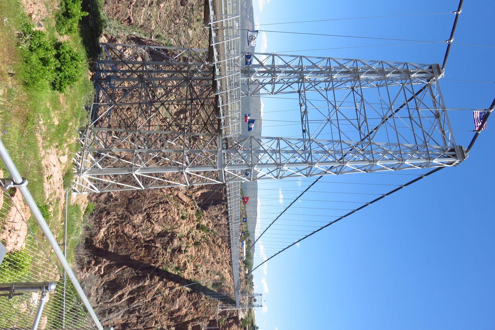 Jour 4 - COLORADO SPRINGS => ALAMOSA - Royal Gorge Bridge