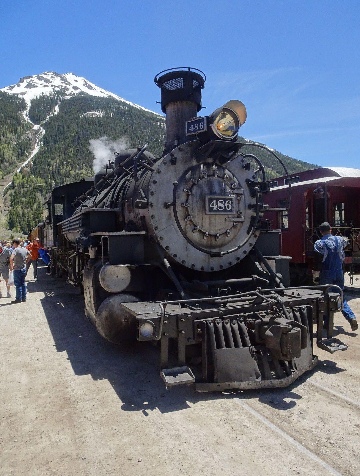 Jour 7 - DURANGO -  Durango & Silverton Narrow Gauge Railroad