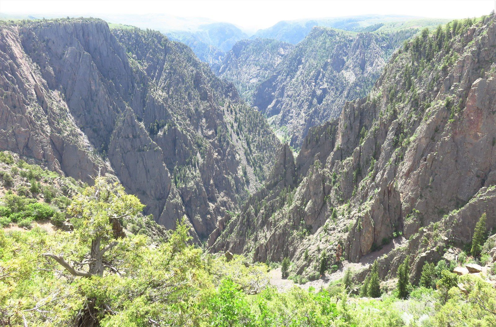 Jour 10 - MONTROSE => GRAND JUNCTION - Black Canyon of Gunnison