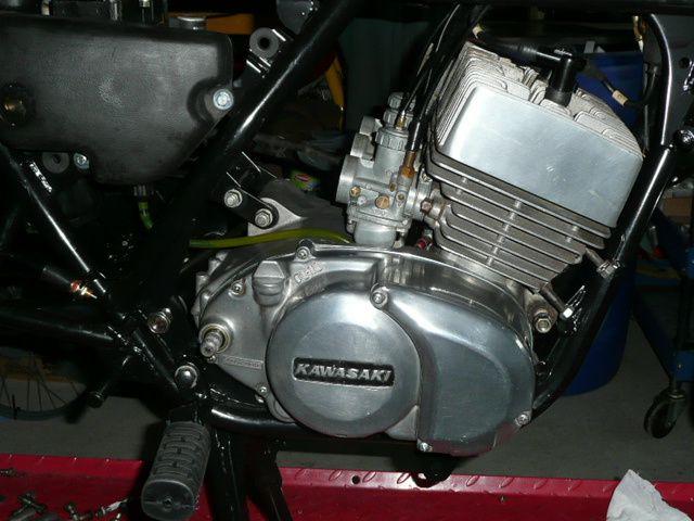 Restauration Kawasaki 400 S3