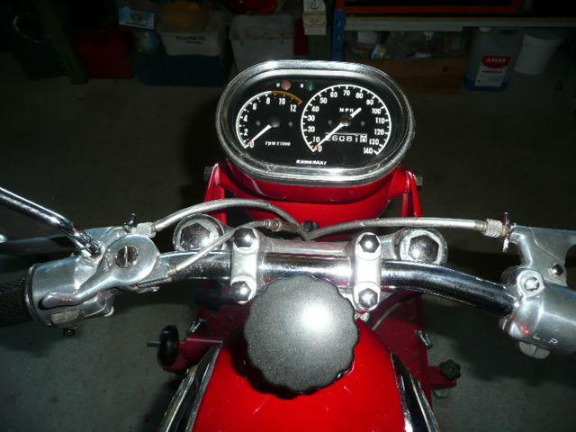 Révision Kawasaki 350 Avenger