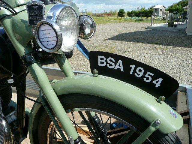 Réparation BSA BC 10 L de 1954