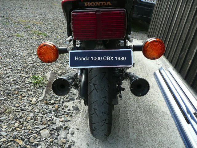 Remise en route Honda 1000 CBX de 1980