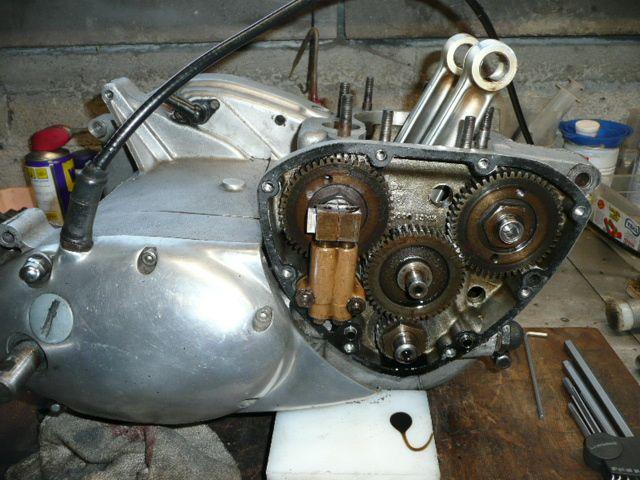 Remise en état moteur TRIUMPH TR7