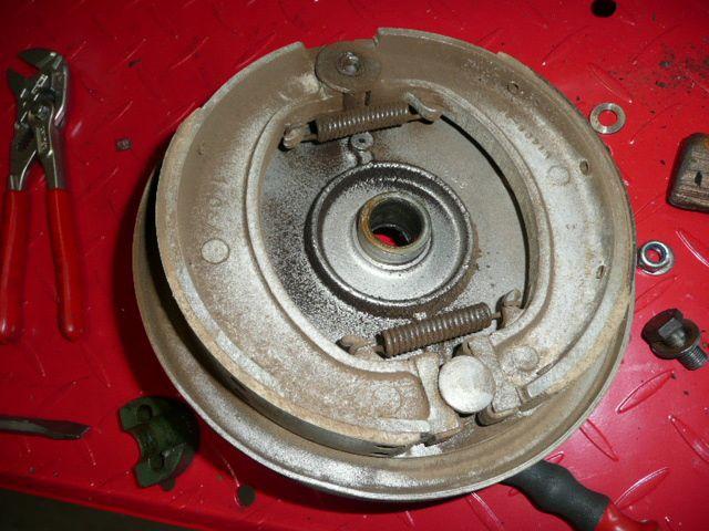 Remise en état haut moteur Triumph T 3 A