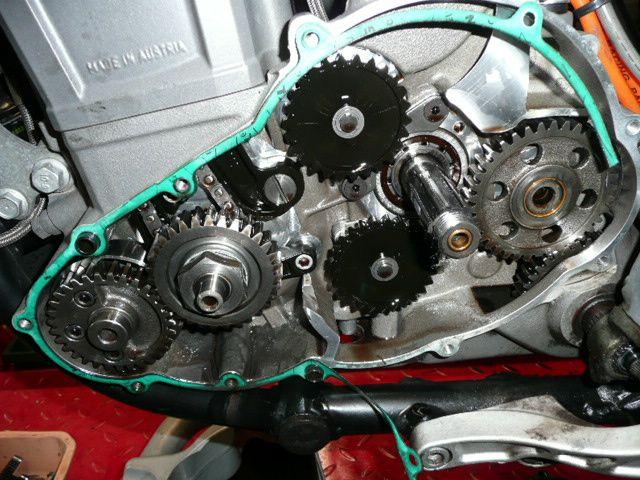 Réparation Ktm 640 LC4 Duke