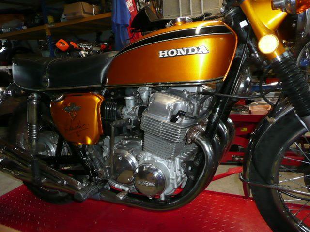Honda 750 K2 1975 Remise en état joints moteur 05/2015