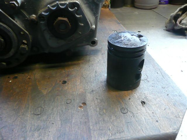 Remise en état moteur de Triporteur Peugeot 125