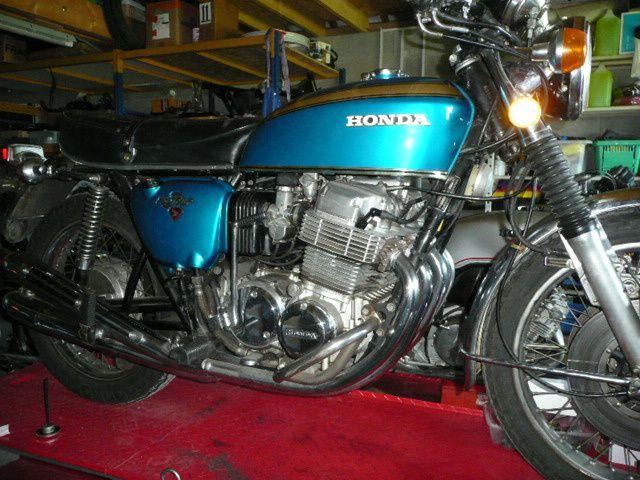 Remise en route Honda Cb 750 Four K2 de1973