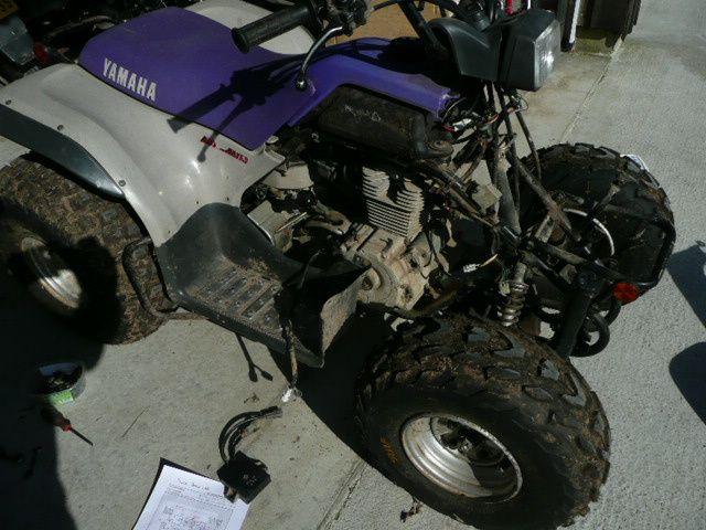 Quad Yamaha Breeze 125 de 1996